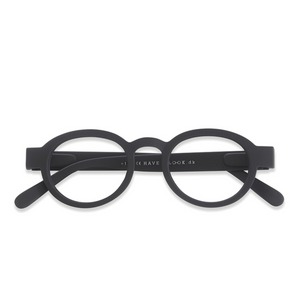 Have a look - Reading glasses circle twist - Black