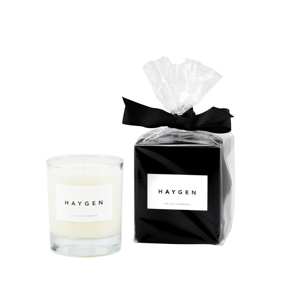 Haygen - Candle Medium Lime, Basil & Mandarin