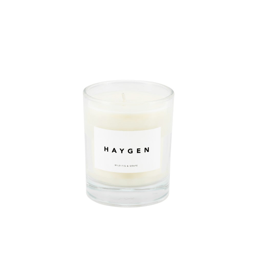 Haygen - Candle Medium Wild Fig & Grape - HAYGEN