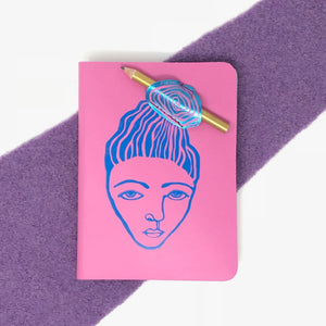 ARK - A6 Messy Bun journal with pencil