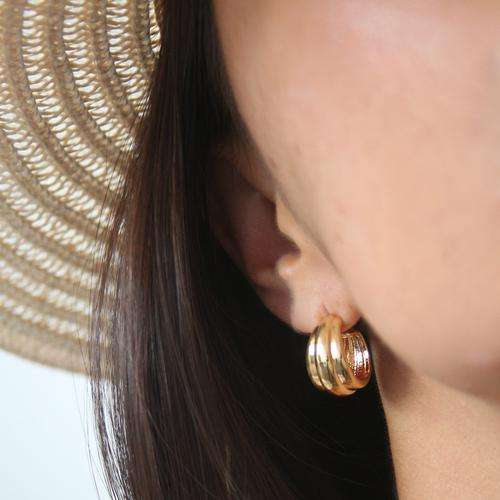 Voluminous Earrings - HAYGEN