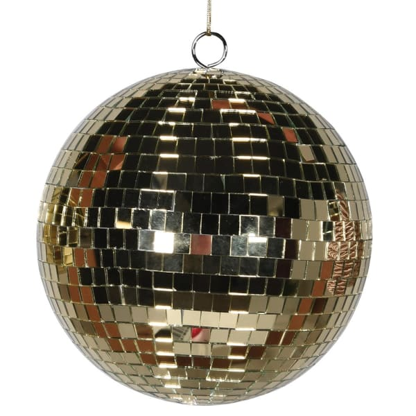 Gold Disco Ball Bauble - HAYGEN