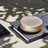 Lexon - MINO Bluetooth Speaker SOFT GOLD - Large - HAYGEN