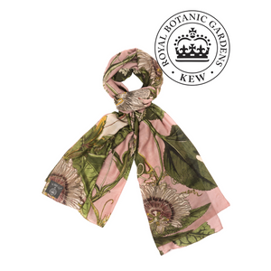 One Hundred Stars - KEW Scarf - Passion Flower Pink