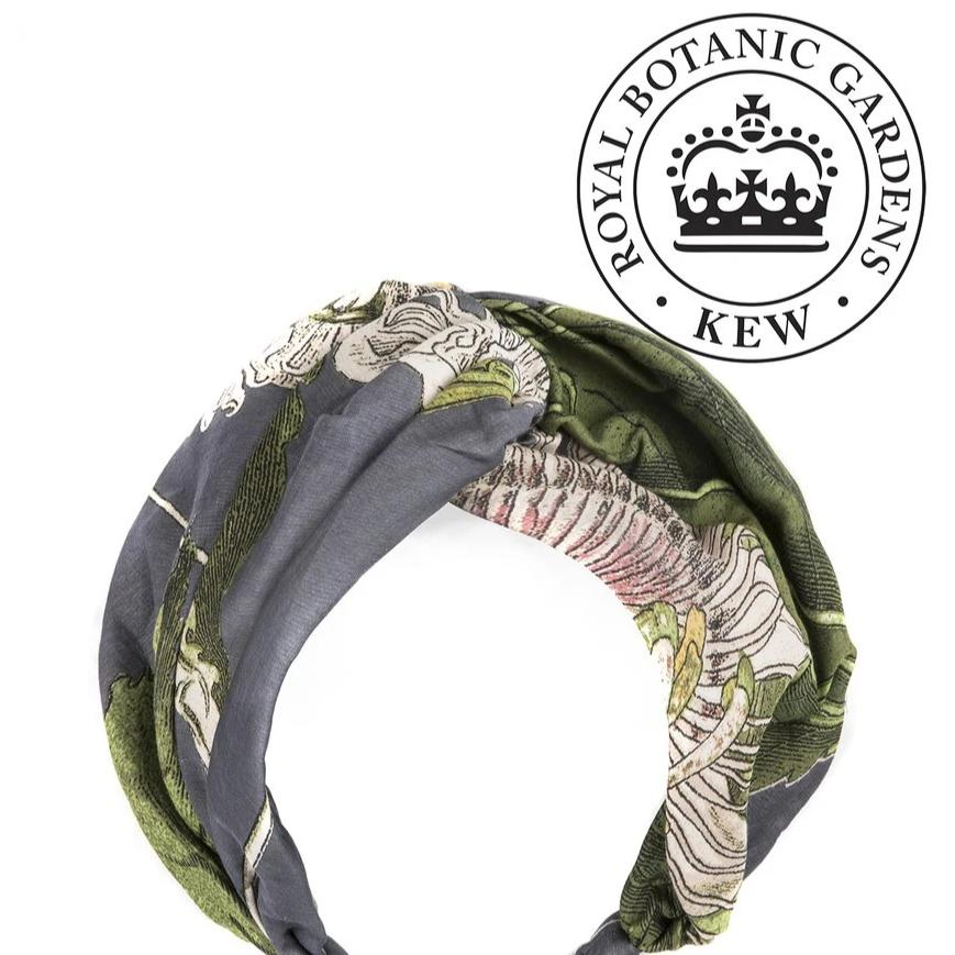 One Hundred Stars - Headband - Passion Flower Grey