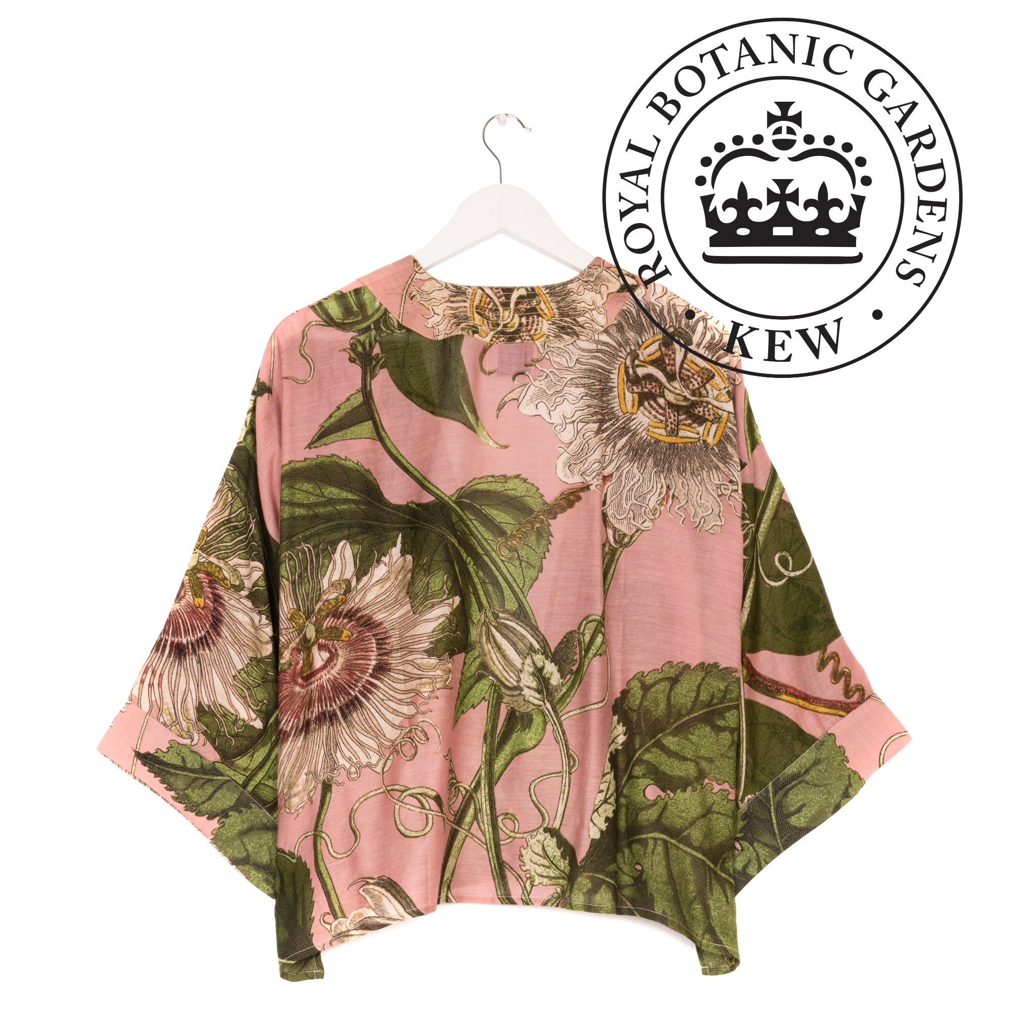 One Hundred Stars - KEW Kimono - Passion Flower Pink