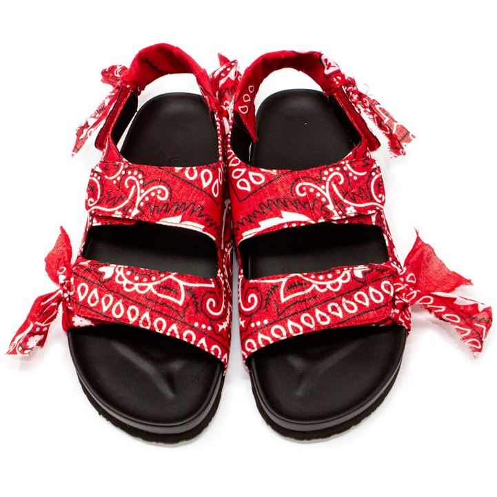 Arizona Love - Apache Sandals - Red Bandana - HAYGEN