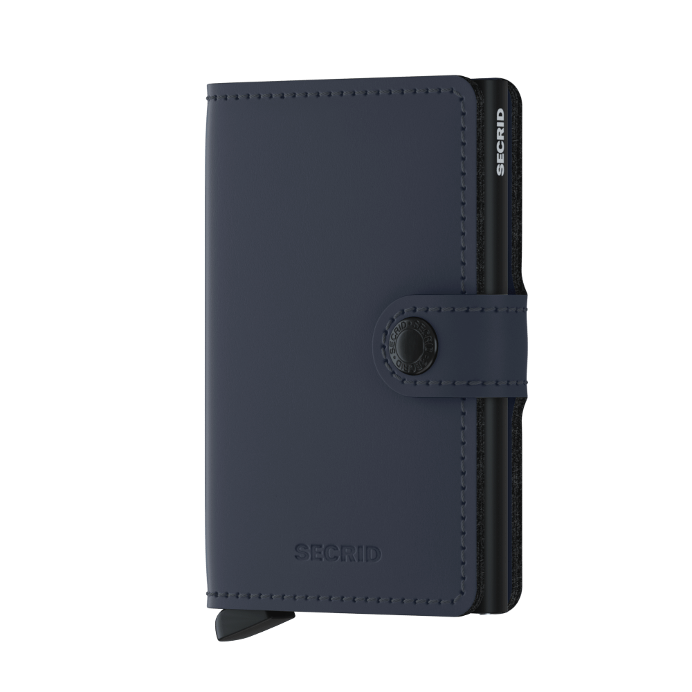 Secrid - Mini Wallet - Matt Night Blue - HAYGEN