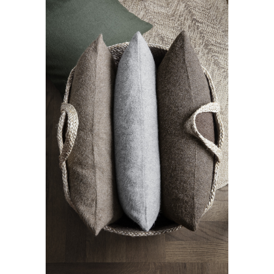 Elvang - Classic Cushion - Light Grey - HAYGEN