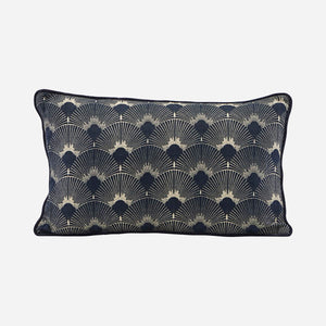 House Doctor - Ananda Pillow - Blue 50x30cm - HAYGEN