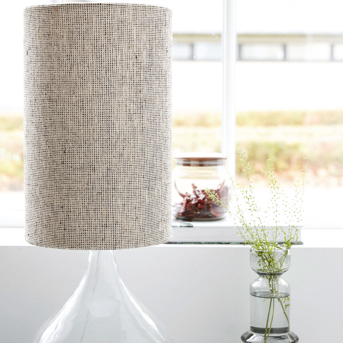 House Doctor - Lampshade - Brown/Grey - Small - HAYGEN