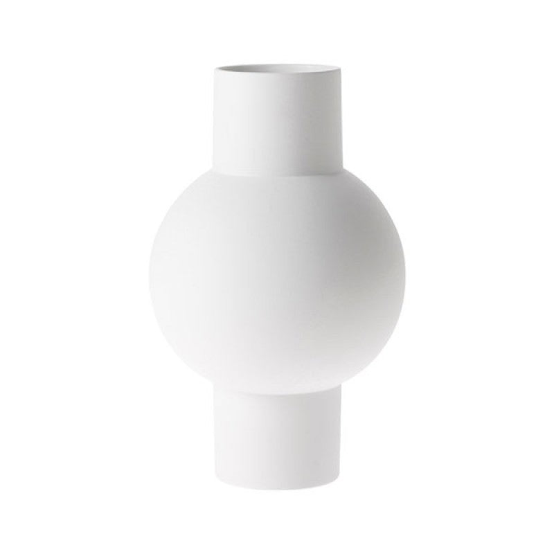 HKliving - Matt White Vase - HAYGEN