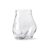HKliving - Glass Bum Vase - HAYGEN
