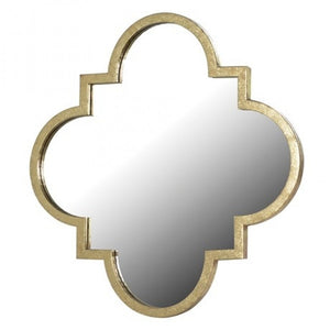Large Gold Moroccan Mirror - HAYGEN