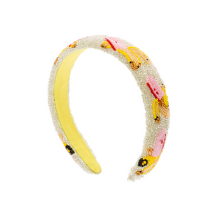Banana Beaded Headband - HAYGEN