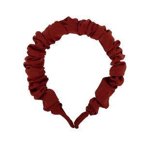 Nicole Satin Plaited Headband - HAYGEN