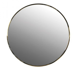HAYGEN - Round Brass Mirror - Large