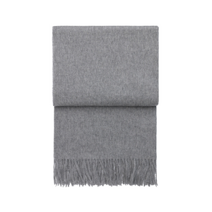 Elvang - Classic Throw - Light Grey - HAYGEN