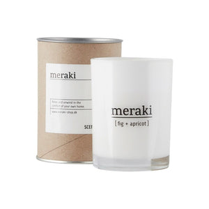 Meraki - Scented Candle - Fig & Apricot -Large - HAYGEN