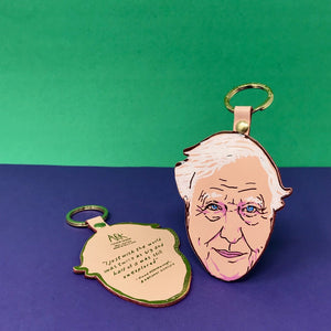Ark - David Attenborough Key Fob - HAYGEN