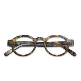 Have a look - Reading glasses circle twist - Tortoise - HAYGEN