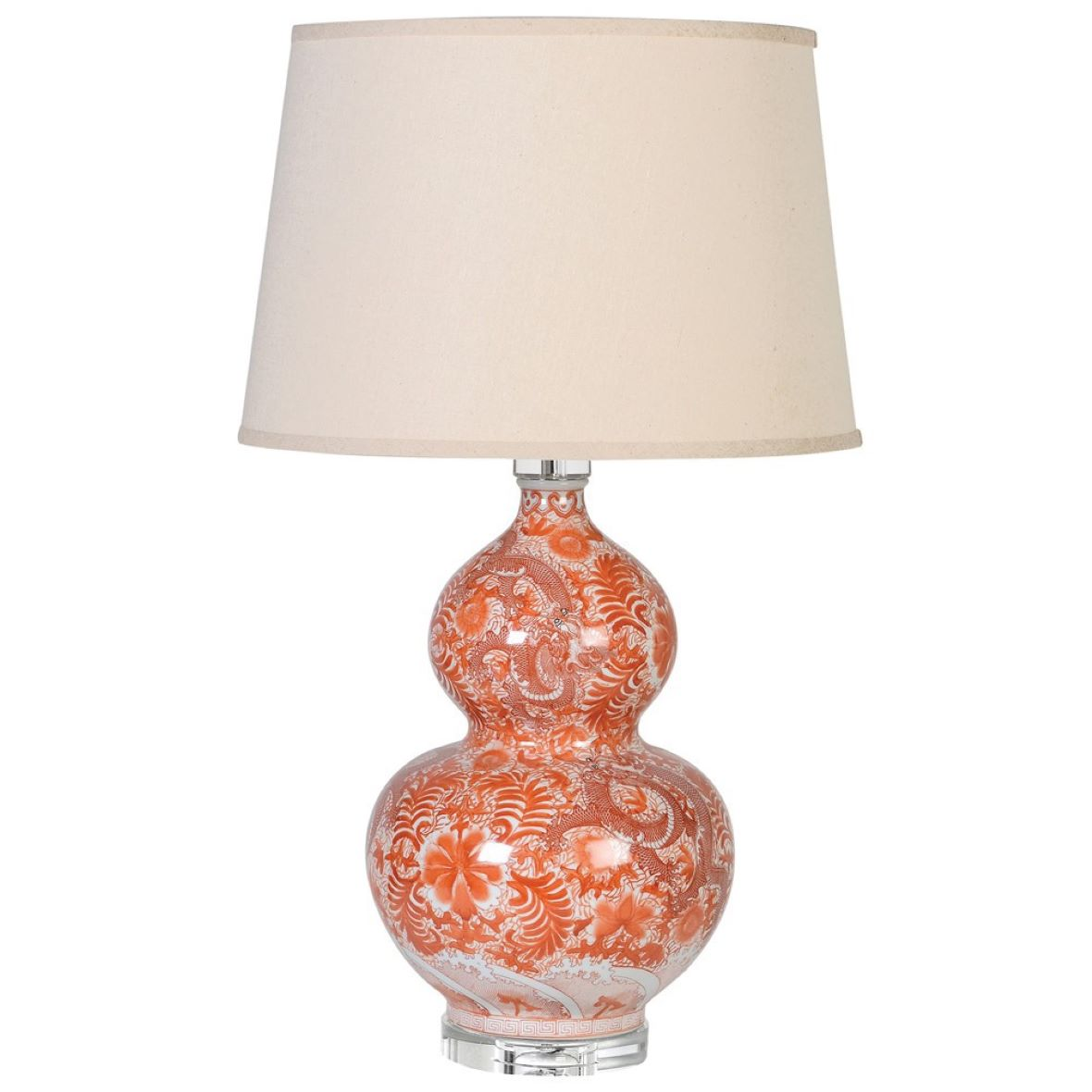 BULBOUS PATTERNED LAMP - HAYGEN