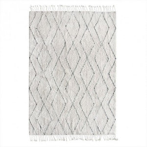 HKliving - Cotton Berber Rug - 140x200 - HAYGEN