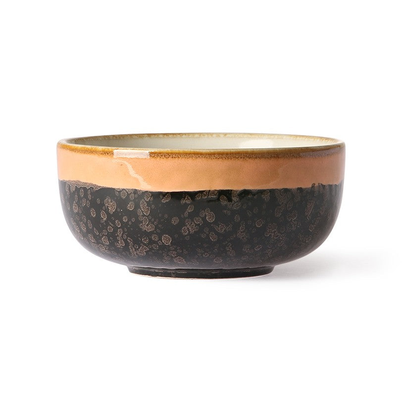 HK Living - Ceramic 70's Bowl - Medium - Lava