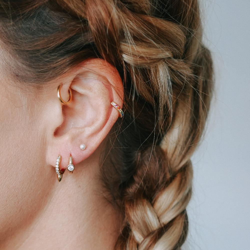 Crystal Spike Ear Party - HAYGEN