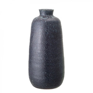 Bloomingville - Terracotta Deco Vase - Blue - HAYGEN