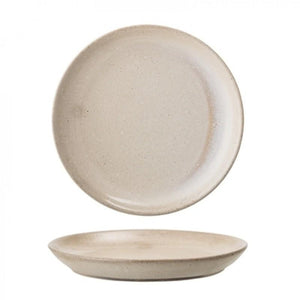Bloomingville - Columbine Stoneware Plate - Nature