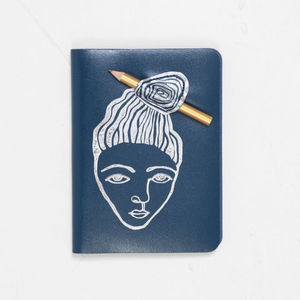 ARK - A6 Messy Bun journal with pencil - HAYGEN