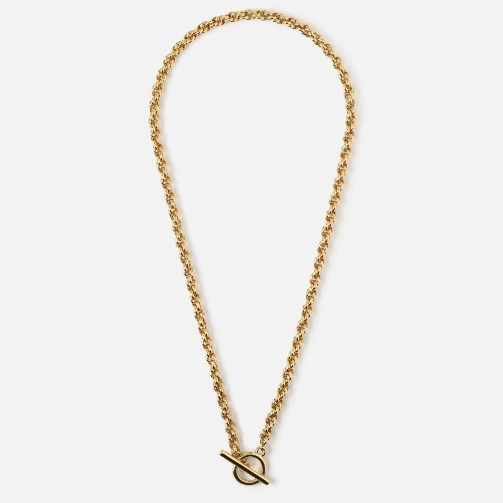 Chunky Chain T Bar Necklace - HAYGEN