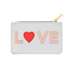 Estella Bartlett - Card Purse - Iridescent LOVE - HAYGEN