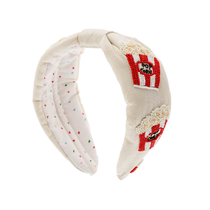Popcorn Beaded Headband - HAYGEN