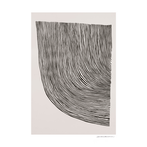 The Poster Club - Leise Dich Abrahamsen - Curves