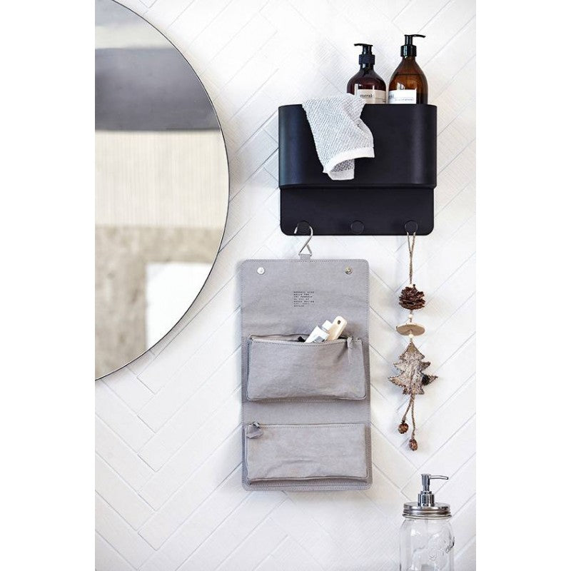 House Doctor - Round Wall Mirror - Clear 80cm - HAYGEN