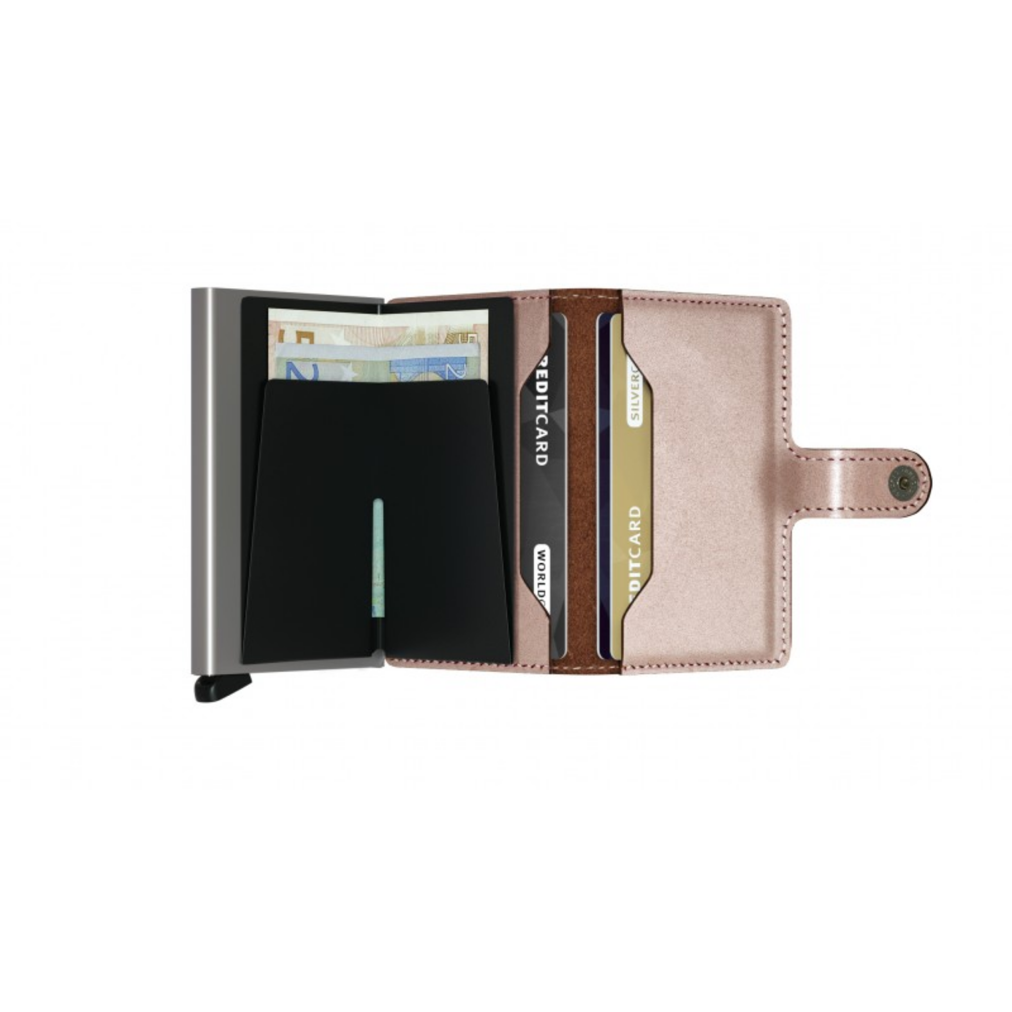 Secrid - Mini Wallet - Metallic Rose - HAYGEN