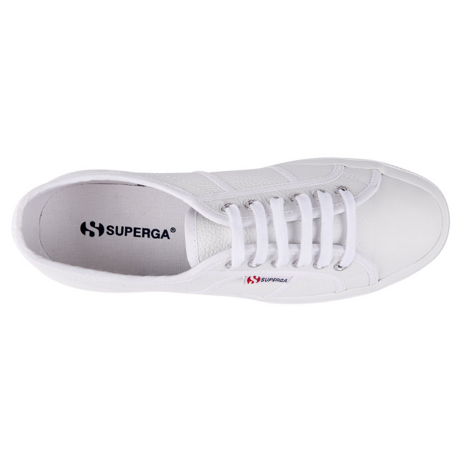 Superga - 2750 EFGLU - White Leather - HAYGEN
