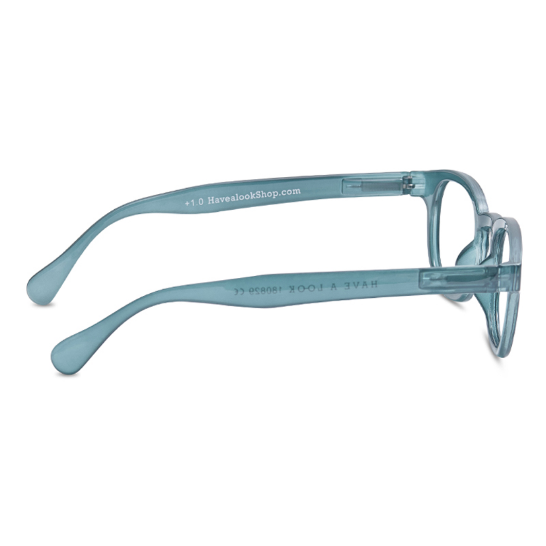 Have a look - Reading glasses Type C - Petrol - HAYGEN