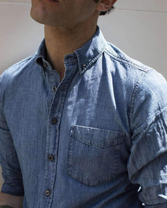 The Japanese Denim Button Down