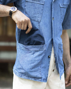 The Japanese Denim Overshirt