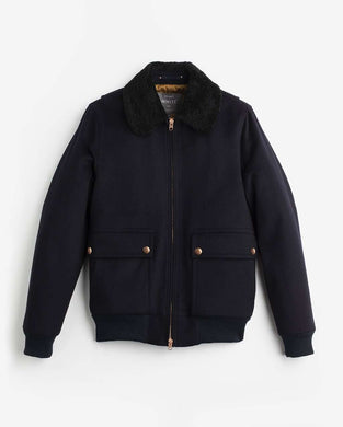 The Melton Flight Jacket