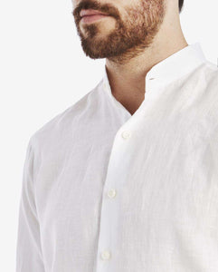 The Linen Grandad Collar