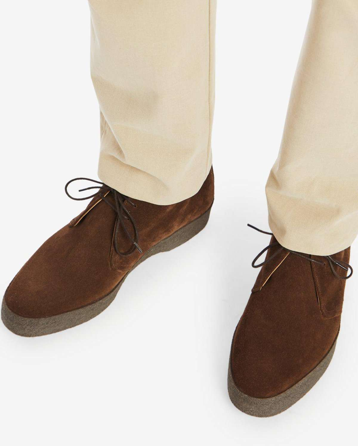 035931aa2da61 Suede Chukka Boot | Made By Sanders For Private White V.C. ...