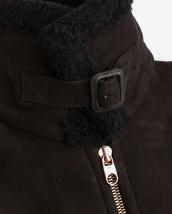 The Deluxe Shearling Flight Jacket
