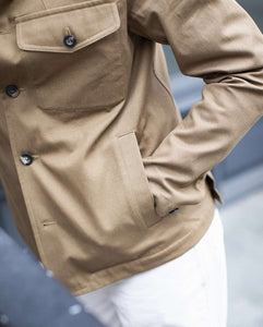 The Stand-Collar Tunic Jacket