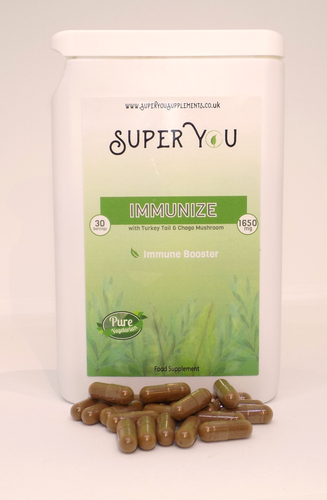 immune system mushroom, fungi support, wellness vegan