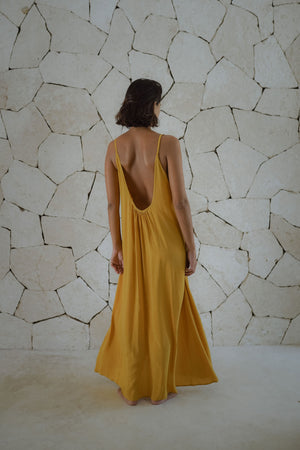 Low back strappy dress - Coba