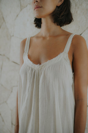 Cotton Maxi Dress | Bacalar